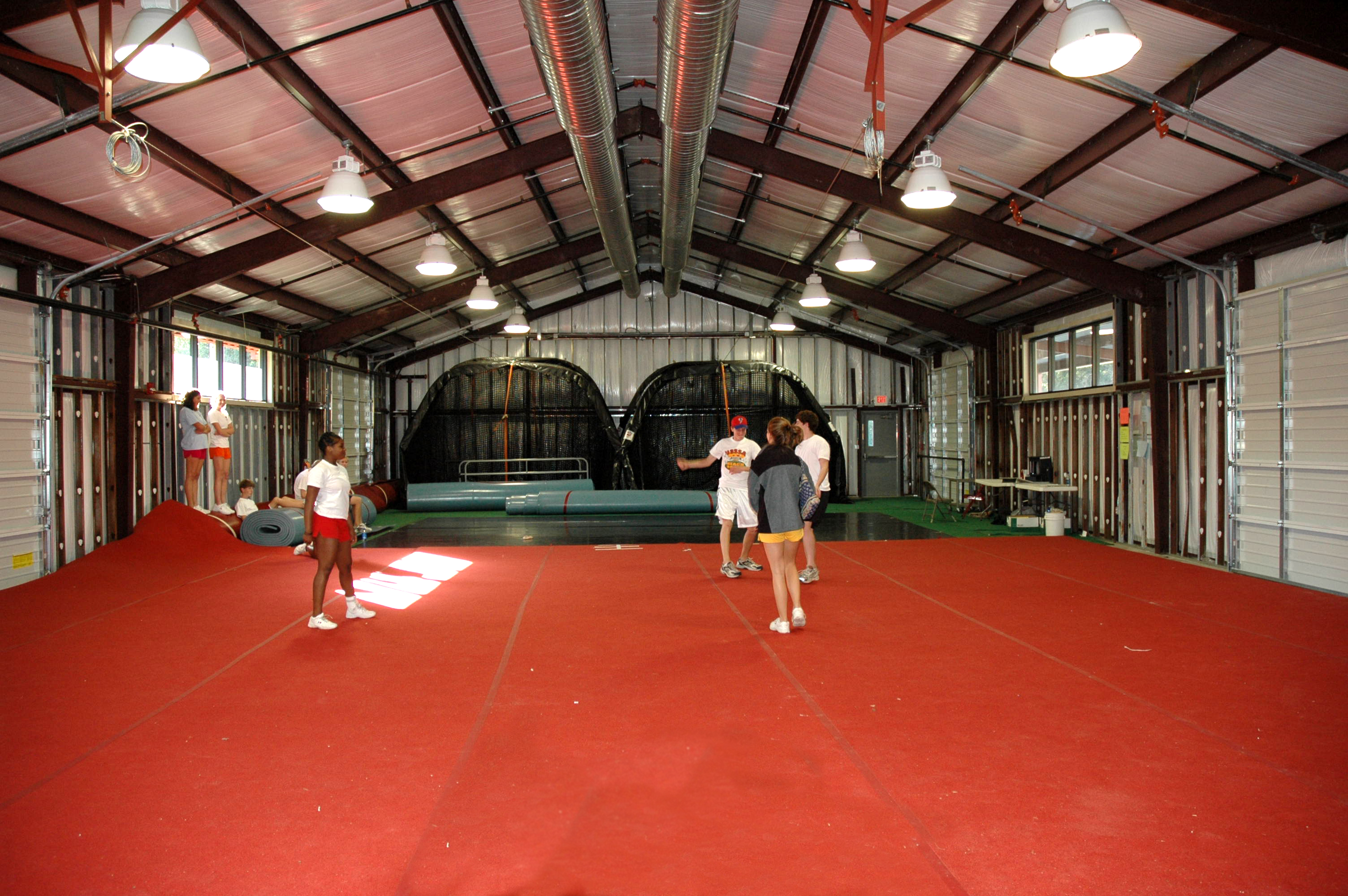 AC Flora Training Interior