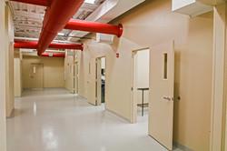 interior hallway w pipes