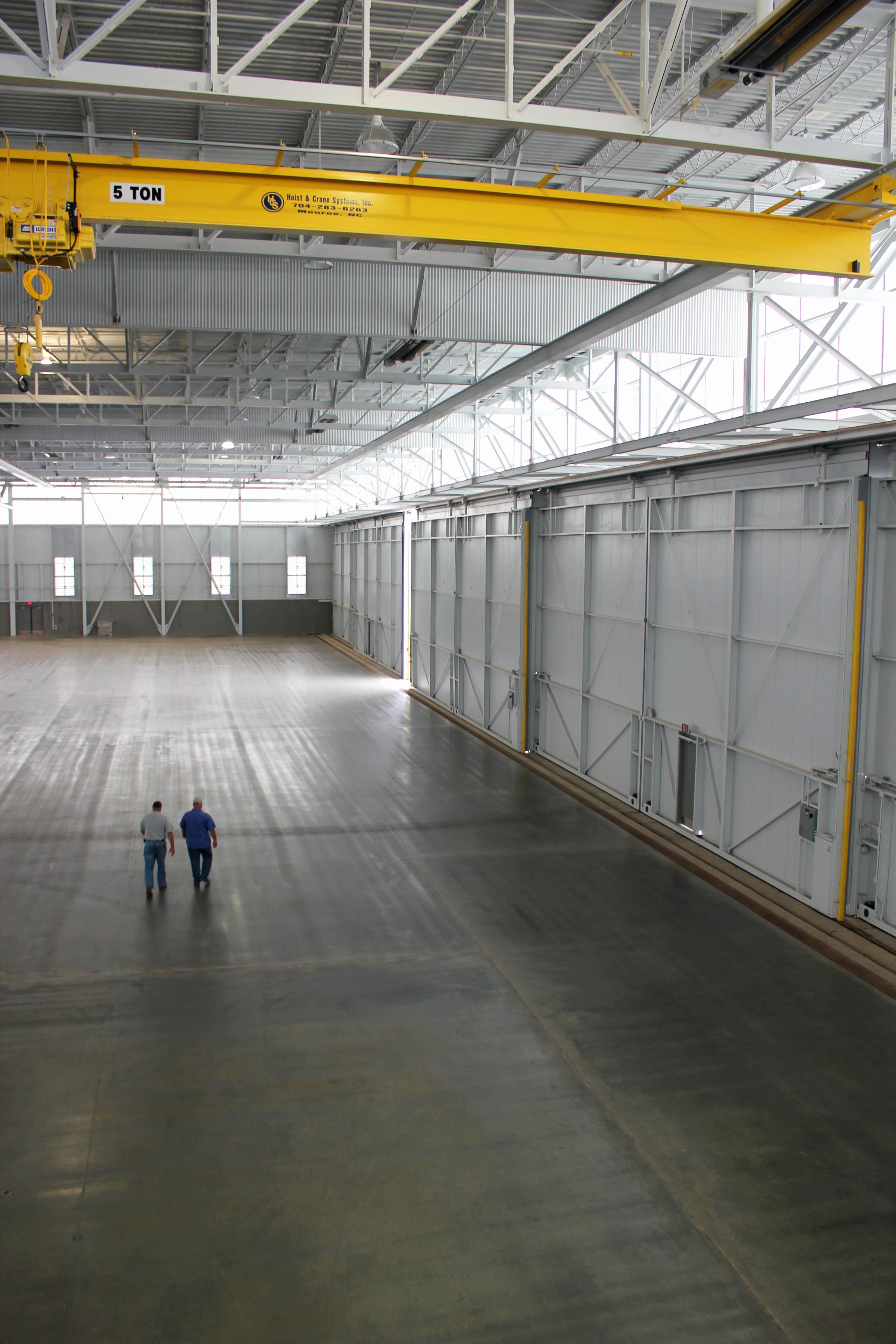 Mcentire Hangar Int 1