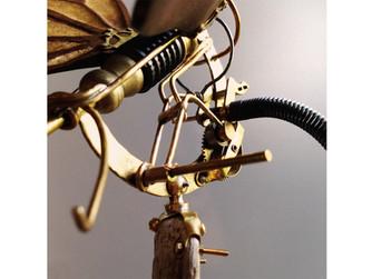 Burnt Mechanical Butterfly