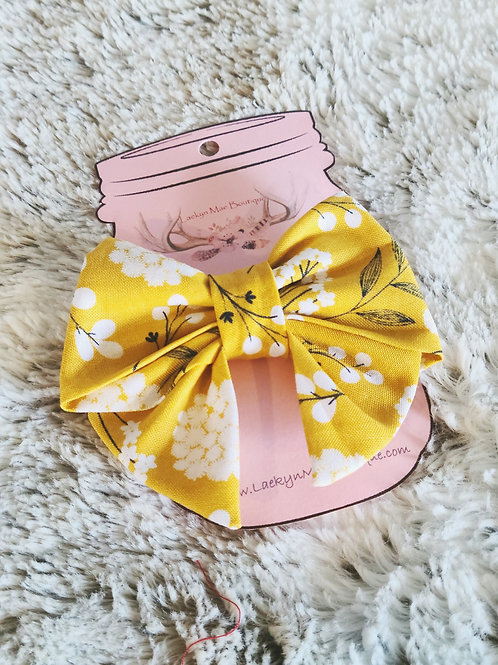 Mustard Floral Sailor