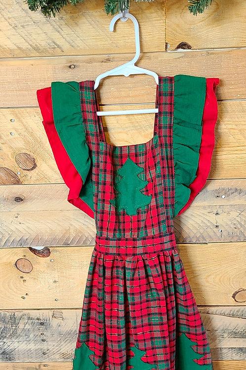 Oh Tannenbaum - Christmas Plaid Jumper Size 10