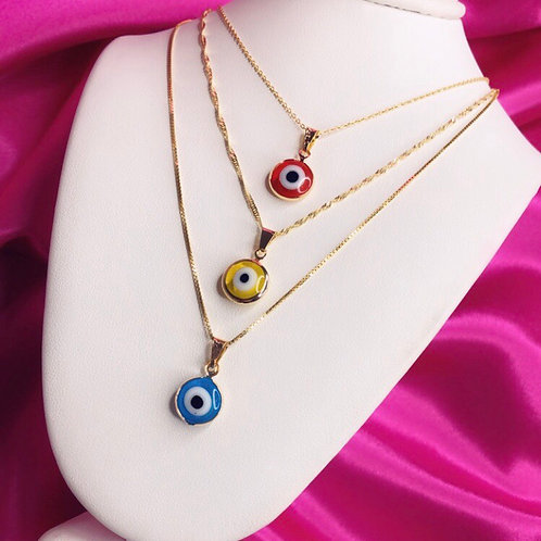 Evil Eye Necklace II