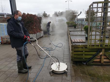 Gartencenter mit sauberem Start!