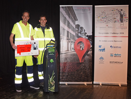 WeedControl GmbH gewinnt den Publikums- und den Jury-Preis