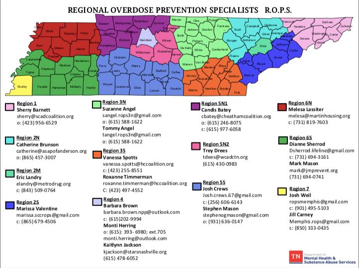 UPDATED regional overdose prevention spe