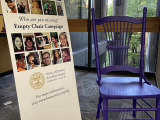 Drug Overdose Support Group's Empty Chair Campaign