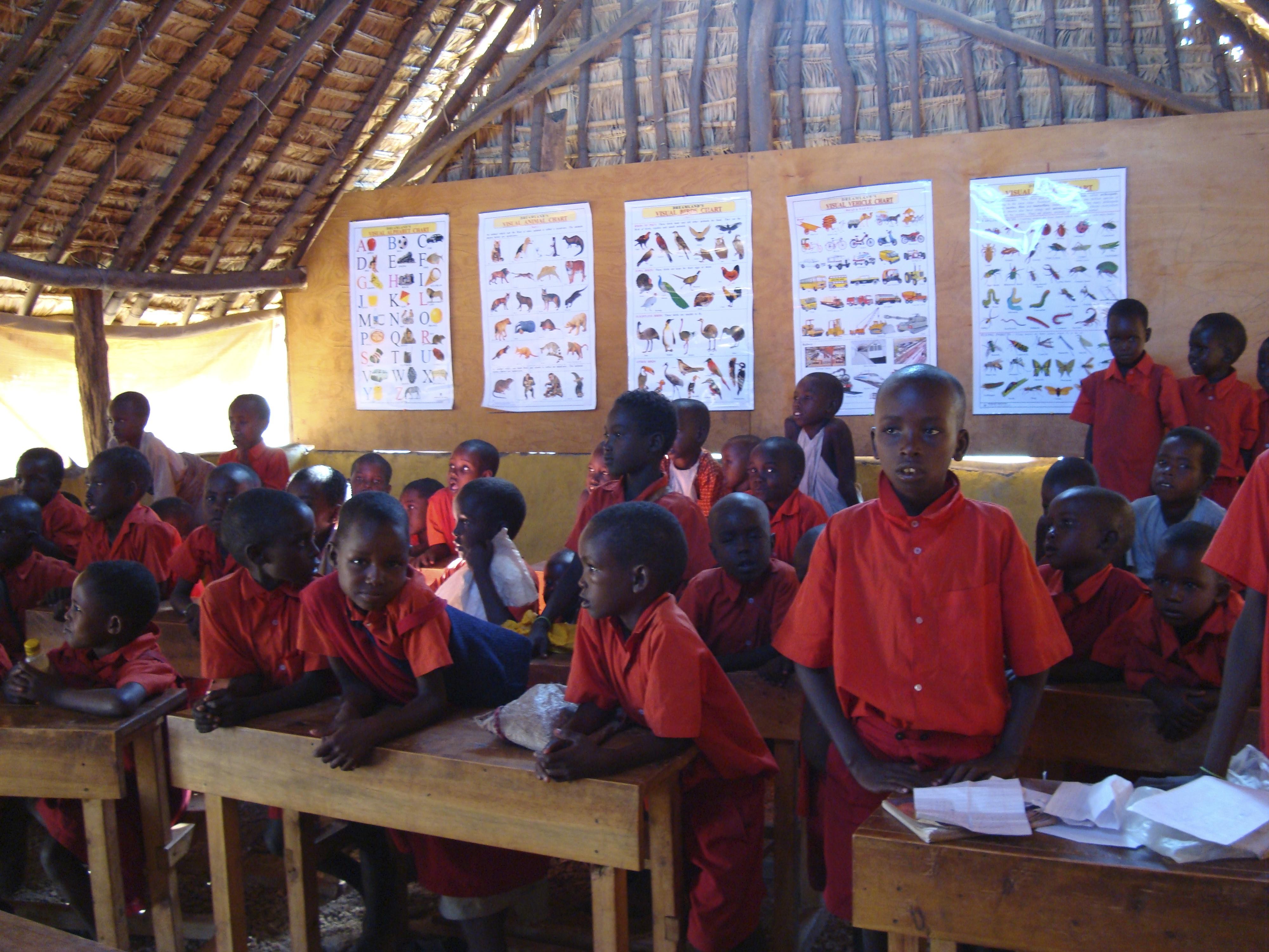 In class Milgis school