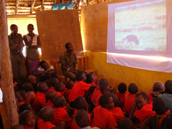 education through eco-films Milgis school