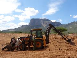 Dam building team