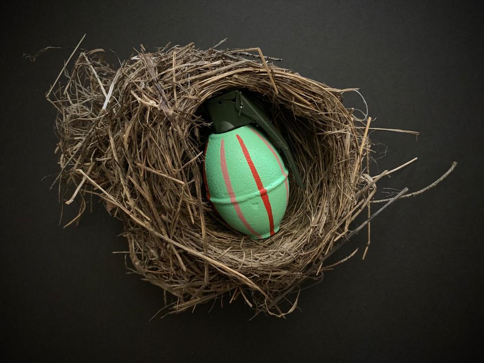 Easter egg (green)