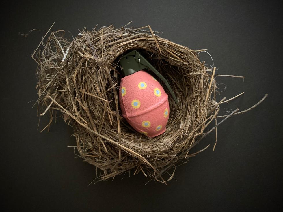 Easter egg (pink)