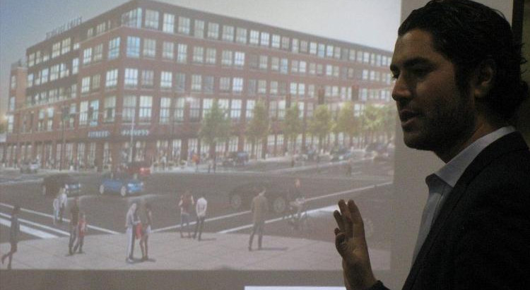 Plans for former Sears at Harlem and North — apartments, grocer and health club