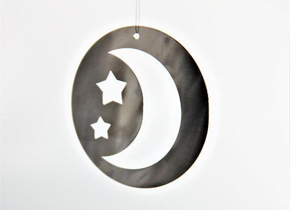 Weihnachtsaufhänger Mond-Sterne
