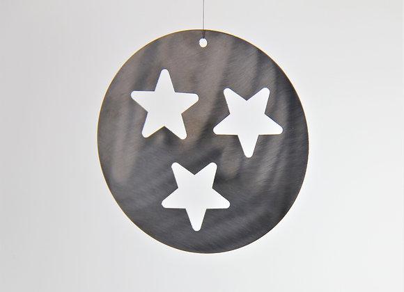 Weihnachtsaufhänger Sterne