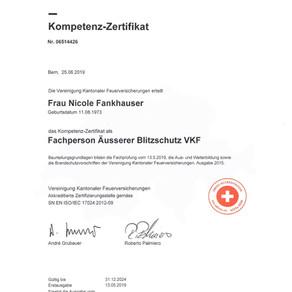 StF messerli ag neu mit VKF Zertifizierung