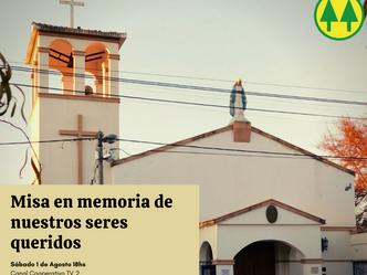 MISA EN MEMORIA DE NUESTROS SERES QUERIDOS