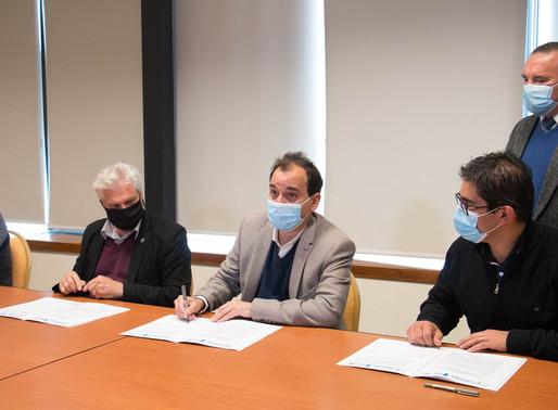 Se firmó el acuerdo y la UNRC realizará el proceso de diagnóstico de COVID-19