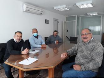 Reunión de trabajo con directivos del ipet 258