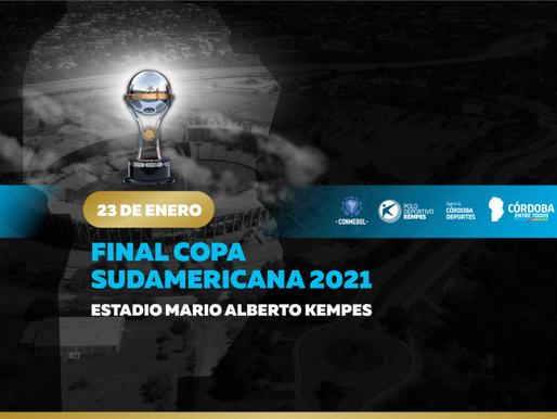 La final de la Conmebol Sudamericana se disputa en el Kempes