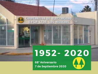 La Cooperativa celebra 68 años de vida