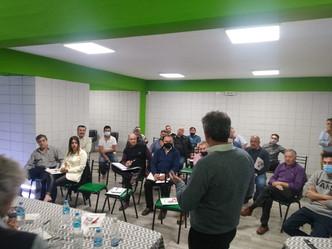 En dalmacio vélez participamos de la reunión de consejo regional