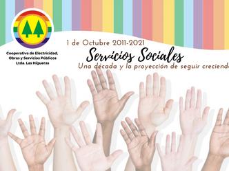 Una década de los servicios sociales