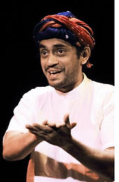 """The Hindu MetroPlus- """"Scene by scene""""   """"I was working as an apprentice actor, and I got smitten by the stage. By the end of that year, I dumped my Civil Service dreams."""""""