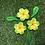 Thumbnail: Loose ceramic frangipani set