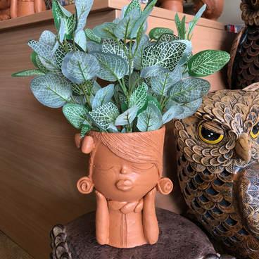 Terracotta lady hb planter