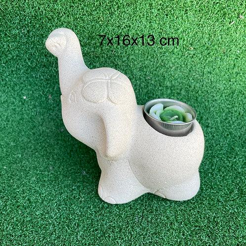 Baby sandstone elephant Tc
