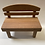 Thumbnail: Wooden chair for doll