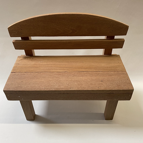 Wooden chair for doll