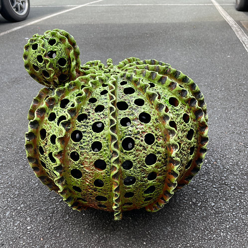 Terracotta cactus garden ornament