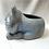 Thumbnail: Terracotta cat kitty planter