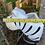 Thumbnail: Wall hung ceramic zebra vase