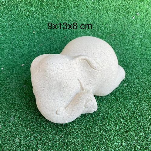 Baby sandstone elephant  L