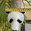 Thumbnail: Wall hung ceramic panda vase