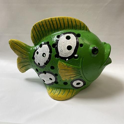 Terracotta fish ornament