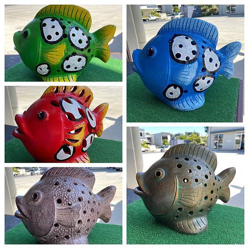 Terracotta fish ornament sm