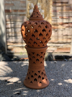 Terracotta lantern skt h