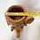 Thumbnail: Terracotta pot woman planter