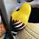 Thumbnail: Ceramic plant pot clinging bird  x 12 pcs