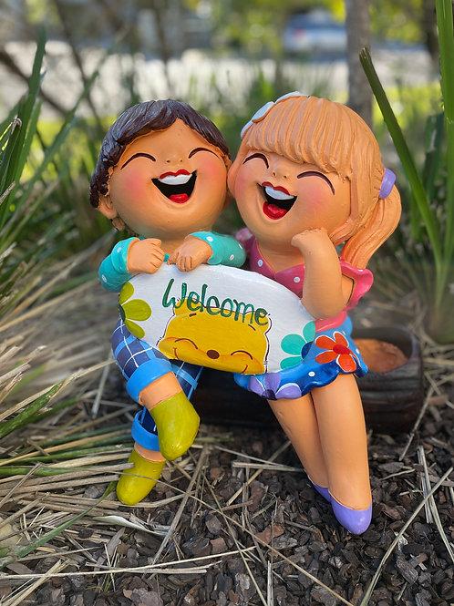 Terracotta welcome dolls