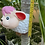 Thumbnail: Wall hung ceramic sheep vase