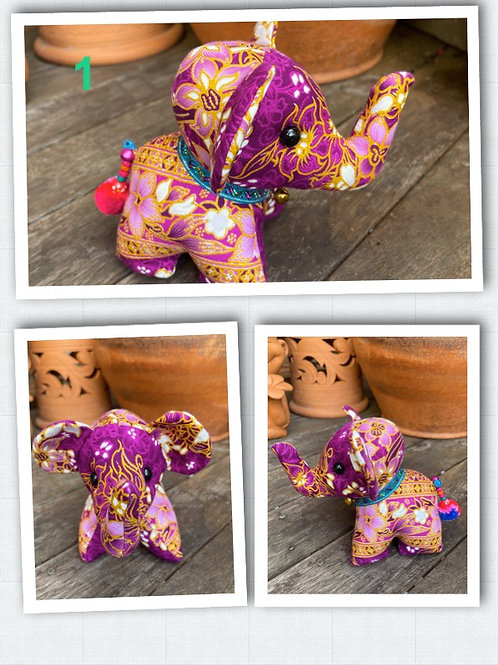 Elephant soft toy