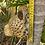 Thumbnail: Wall hung ceramic cheetah vase
