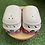 Thumbnail: Ceramic kombi salt & pepper shaker set