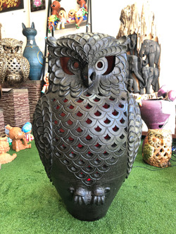 Terracotta owl xls black