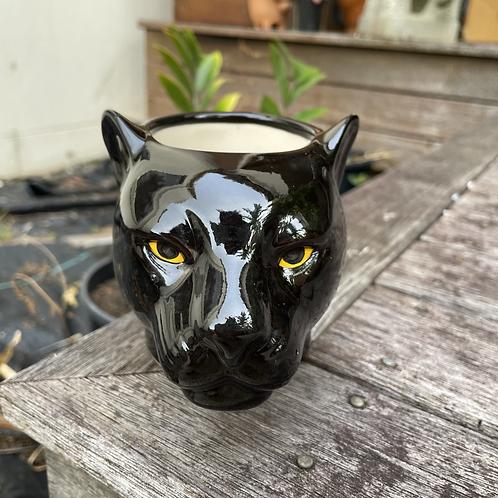 Pen-pencil holder black panther